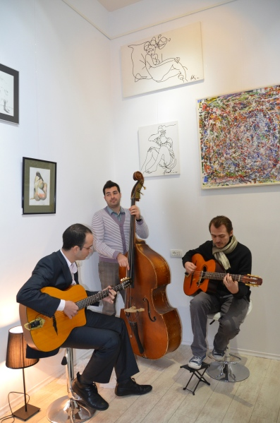 "Trio de jazz ""Swing en Vogue"""
