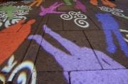 MQ: proiectii luminoase pe asfalt