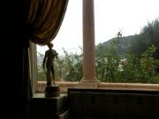 Vedere din interiorul Vilei Ephrussi de Rothschild, St Jean Cap Ferrat, Franta