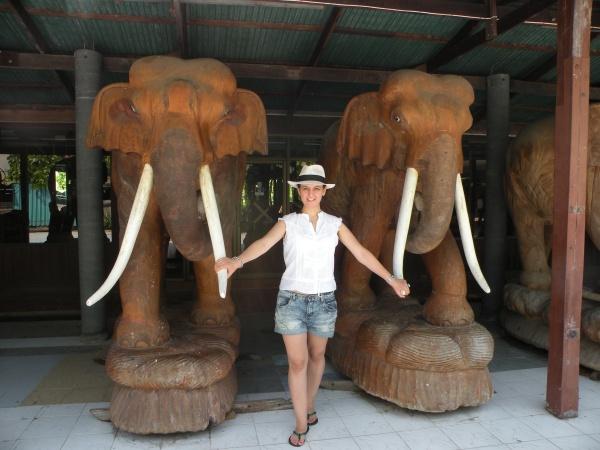 Elefantelul dragut si sotia sa. Nu pot trai unul fara celalalt. Pe langa faptul ca s-ar potrivi la noi ca nuca-n perete, au si o oarecare problema de gabarit. :)