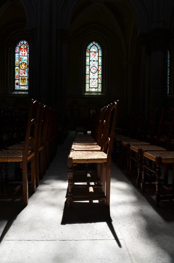 Dupa-amiaza in Catedrala din Lausanne. Foto: ©Slowaholic