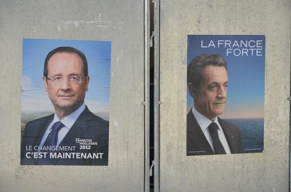 Afis electoral. Azi: Evian, Franta. Foto: ©Slowaholic
