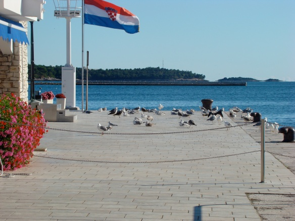 In port. Porec, Croatia. Foto: ©Slowaholic