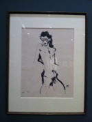 Egon Schiele: 'Nude Self' Photo: ©Slowaholic
