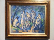 Paul Cezanne: 'Seven Bathers' Photo: ©Slowaholic