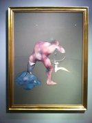 Francis Bacon: 'Man at a Washbasin' Photo: ©Slowaholic