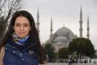 În spatele meu: Moscheea Albastră. Foto: ©Slowaholic