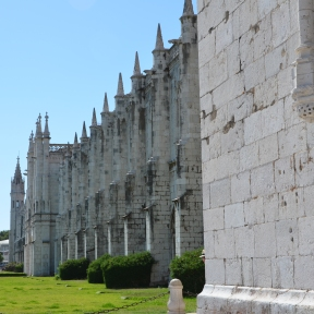 Monastery of Jeronimos, Lisbon, Portugal. Photo: ©SLOWAHOLIC