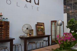 Landeau Chocolate @ LX Factory, Lisbon. Aug, 2013. Photo: ©SLOWAHOLIC