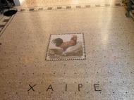 Mozaic. Villa Grecque Kerylos. Photo: ©SLOWAHOLIC