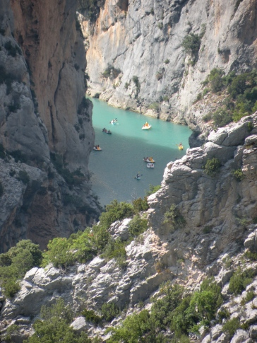 Gorges du Verdon, France. Photo: ©SLOWAHOLIC