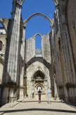 Convento do Carmo, Lisboa. Carmo Convent, Lisbon. Photo: ©Slowaholic