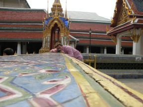 Playing with the cameras 2. Palatul Regal. Bangkok. Tailanda. Grand Palace, Bangkok, Thailand. Photo: ©Slowaholic