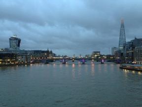 Past, present and future. London. Jan. 2014 Photo: ©SLOWAHOLIC
