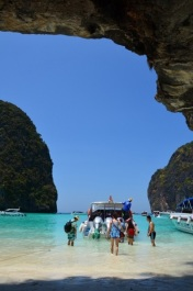 Maya Beach, Koh Phi Phi. Photo: ©SLOWAHOLIC