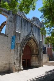 Intrarea în Convento do Carmo. Entrance in Convento do Carmo. Largo do Carmo, Lisboa. Foto: ©Slowaholic