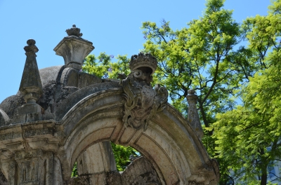 Detaliu fântână. Fountain detail. Largo do Carmo, Lisboa. Foto: ©Slowaholic