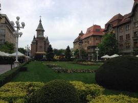 Catedrala ortodoxă. Timișoara, aprilie 2014. Foto: ©Slowaholic