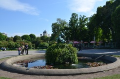 Volksgarten. Vienna. May 2014