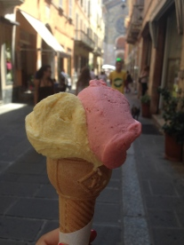 Best Ice cream I had in a long time. :) Piacenza, Italy Photo: ©Slowaholic