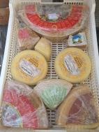 Saturday Market. Smelly cheese. :) Piacenza, Italy Photo: ©Slowaholic