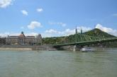 Liberty Bridge (Szabadság híd). Danube cruise. Budapest, Hungary, July 2014. Photo: ©Slowaholic