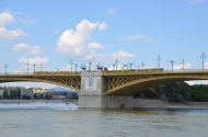 Margaret Bridge. Danube cruise. Budapest, Hungary. July 2014. Photo: ©Slowaholic
