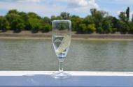 Cool lemonade. Danube cruise. Budapest, Hungary. July 2014. Photo: ©Slowaholic