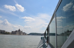 The Hungarian Parliament mirrored. Budapest, Hungary. July 2014. Photo: ©Slowaholic