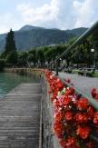 By the lake. (Lake Wolfgang - Wolfgangsee). Sankt Gilgen, Austria. July, 2014. Photo: ©SLOWAHOLIC