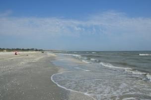 Plaja Corbu, Marea Neagră. România Corbu Beach, Black Sea, Romania. Foto: ©Slowaholic