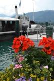 Cu vaporul pe Lacul Wolfgang (Wolfgangsee). Boat ride on Lake Wolfgang (Wolfgangsee) Photo: ©SLOWAHOLIC