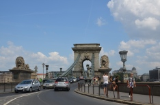 The Chain Bridge. Budapest. Hungary. Tuk Tuk ride. July 2014 Photo: ©Slowaholic