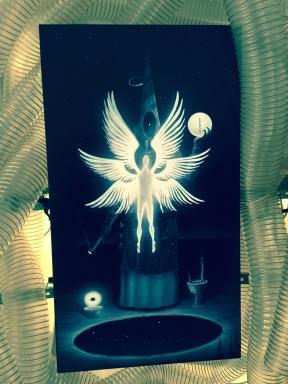 """Feed me"", installation by artists Noper & Sainte Machine. University Square, Bucharest, Romania."