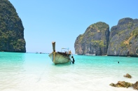 """The Beach"", Maya Bay. Ko Phi Phi. Photo: ©Slowaholic"