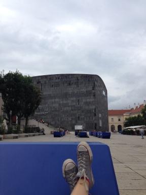 I keep an eye on MUMOK ;)MQ, Vienna, Austria.Foto: ©Slowaholic