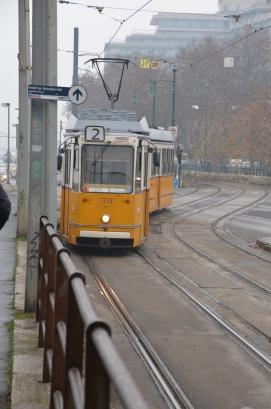 Budapest tram. Photo: ©Slowaholic