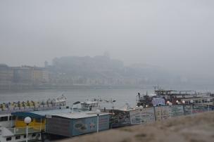 Fog on the Danube. Budapest. Photo: ©Slowaholic