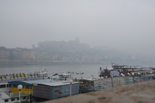 Fog on the Danube. Budapest. Photo: ©Slowaholic
