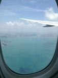 Landing in Singapore. Photo: ©Slowaholic