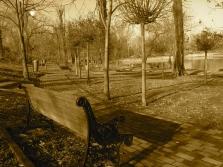 Conversație mută. Parcul Bordei, București. Foto: ©SLOWAHOLIC