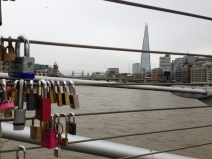 The Shard from Millennium Bridge. London. Photo: ©Slowaholic