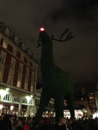 Giant Rudolf in Convent Garden. London. Photo: ©Slowaholic