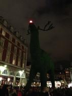 Giant Rudolf in Convent Garden. London. Photo: ©Slowaholic