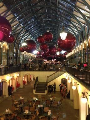 Covent Garden. London. January 2014. Photo: ©Slowaholic