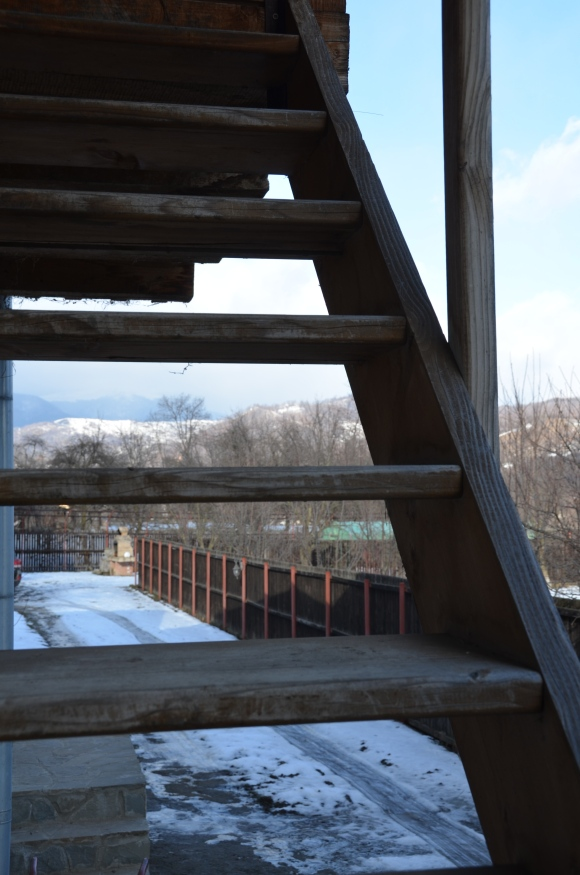 Viewing point. Măneciu, România. Ian. 2015. Foto: ©Slowaholic