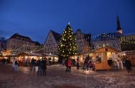 Târgul de Crăciun. Centrul Istoric. Tallinn, Estonia. Foto: ©Slowaholic
