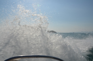 Splash! On the way to Ko Phi Phi. Photo: ©Slowaholic