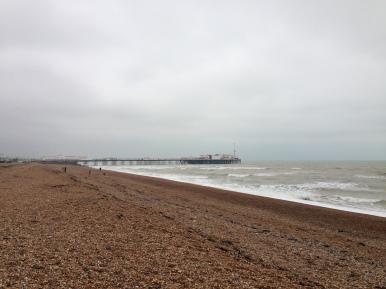 Brighton Beach. Brighton, UK. Ian. 2014. Foto: ©Slowaholic