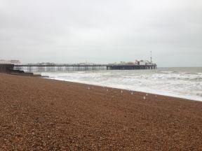 Birghton Pier. UK. Ian. 2014. Foto: ©Slowaholic
